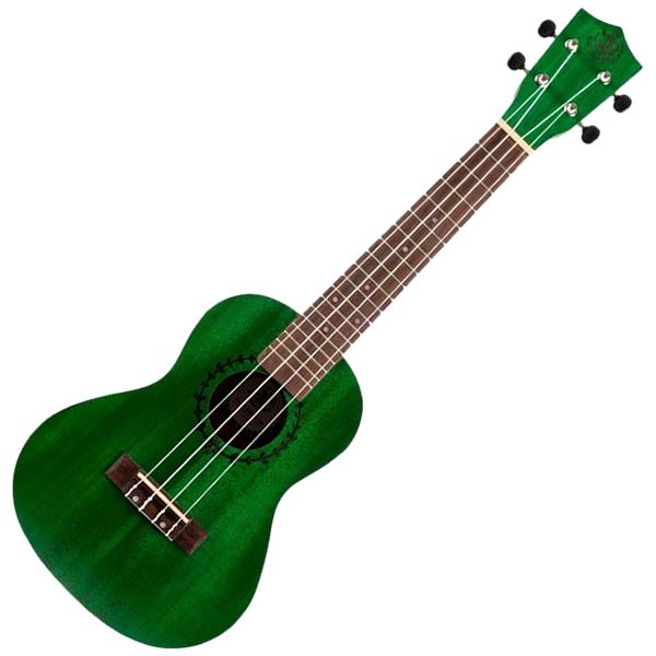 BumbleBee BUC23 Green Concert Ukulele