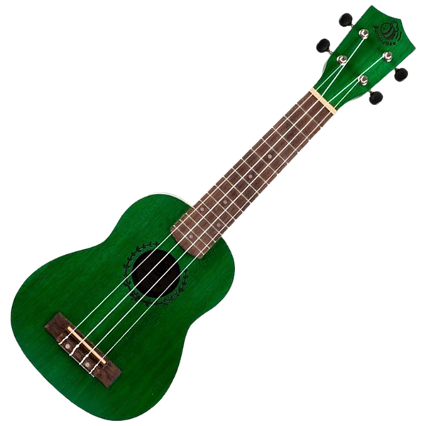 BumbleBee BUS23 Green Soprano Ukulele
