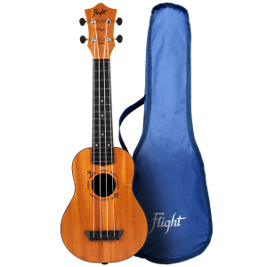 Flight TUS53 Mahogany Soprano Travel Ukulele