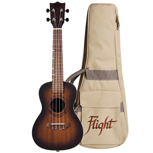 Flight DUC380 Amber Concert Ukulele