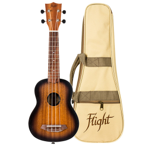 Flight NUS380 Amber Soprano Ukulele