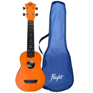 Flight TUS35 Orange Travel Soprano Ukulele