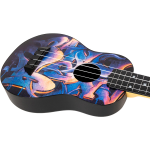 Flight TUS40 Graffiti Travel Soprano Ukulele